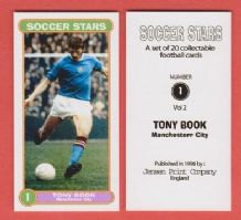 Manchester City Tony Book